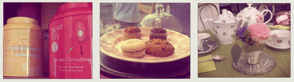 salon de thé en face du musée des tissus