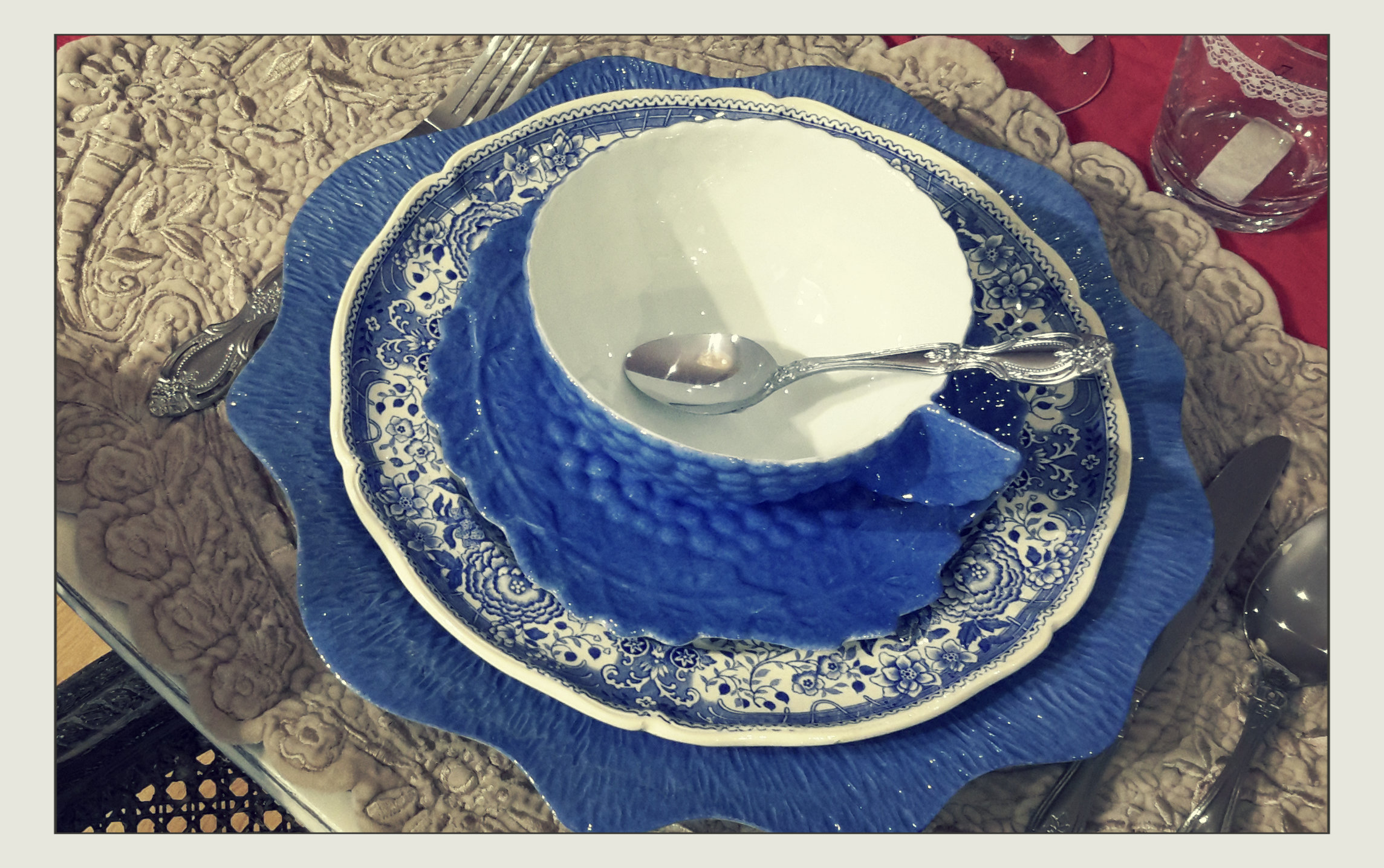 brocante vaisselle chinée villeroy&boch